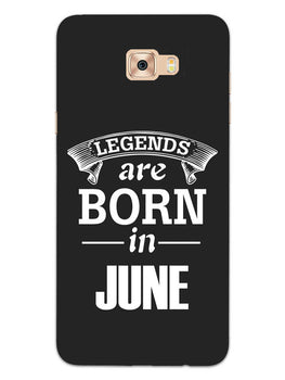 Legends June Samsung Galaxy C7 Pro Mobile Cover Case