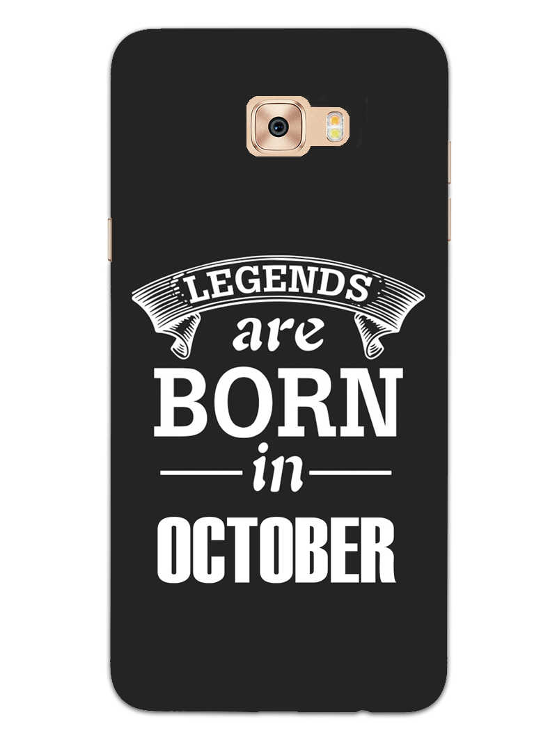 Legends October Samsung Galaxy C7 Pro Mobile Cover Case - MADANYU