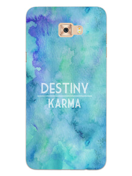 Destiny Vs Karma Samsung Galaxy C7 Pro Mobile Cover Case