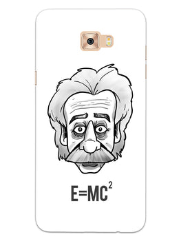 Einstein Equation Samsung Galaxy C7 Pro Mobile Cover Case