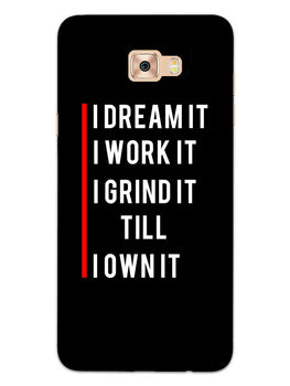 Morning Motivation Samsung Galaxy C7 Pro Mobile Cover Case