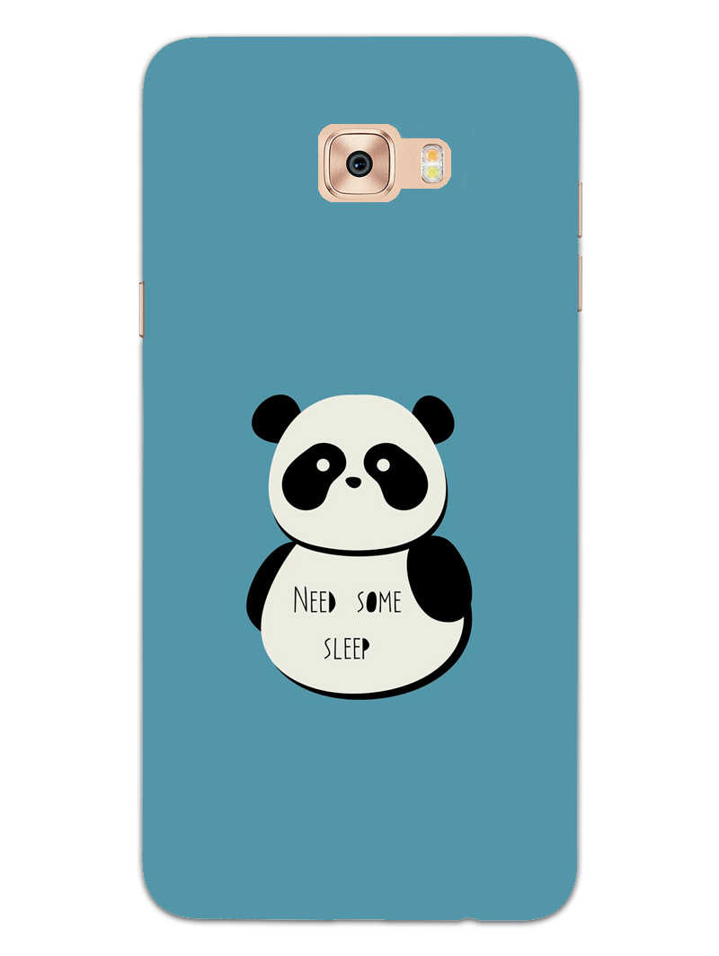 Sleepy Panda Samsung Galaxy C7 Pro Mobile Cover Case