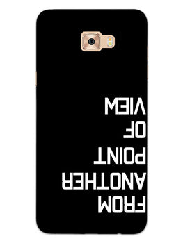 Point Of View Samsung Galaxy C7 Pro Mobile Cover Case