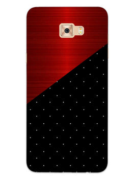 Polka Dots On Wood Samsung Galaxy C7 Pro Mobile Cover Case