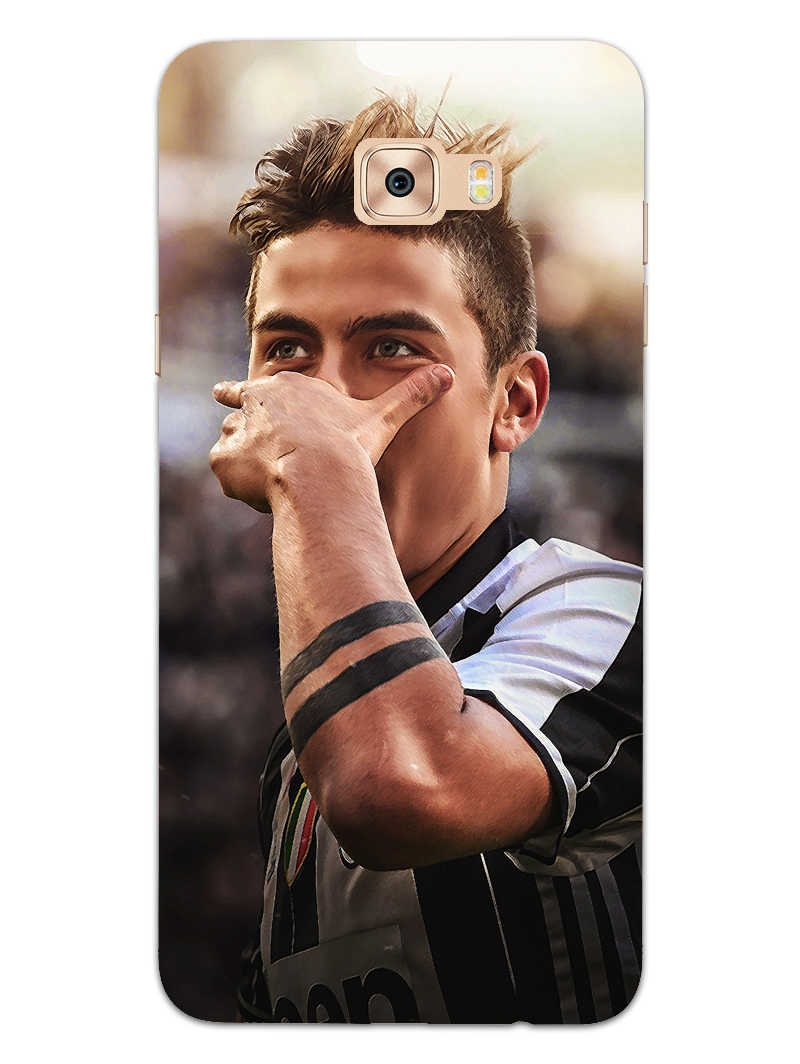 Dybala Art Samsung Galaxy C7 Pro Mobile Cover Case - MADANYU