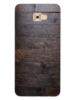 Wooden Wall Samsung Galaxy C7 Pro Mobile Cover Case