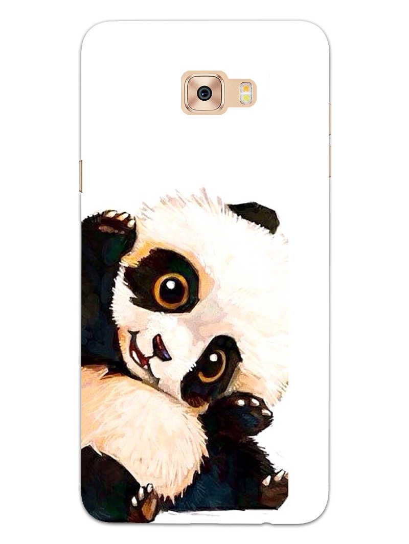 Cute Baby Panda Samsung Galaxy C7 Pro Mobile Cover Case - MADANYU