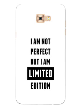 I Am Limited Edition Samsung Galaxy C7 Pro Mobile Cover Case