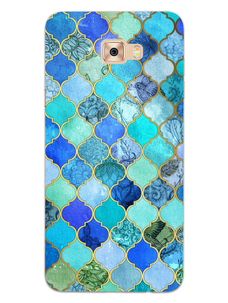 Morroccan Pattern Samsung Galaxy C9 Pro Mobile Cover Case