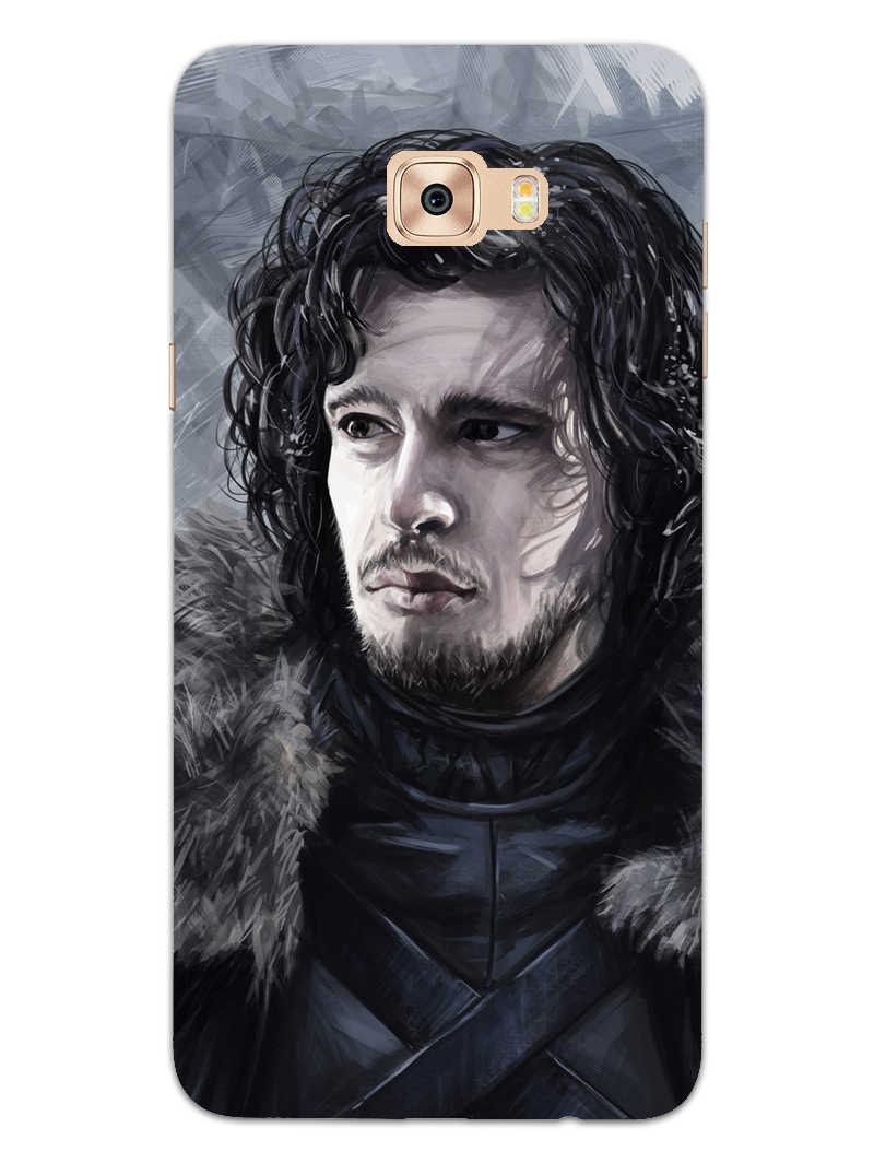 Jon Snow Samsung Galaxy C9 Pro Mobile Cover Case - MADANYU
