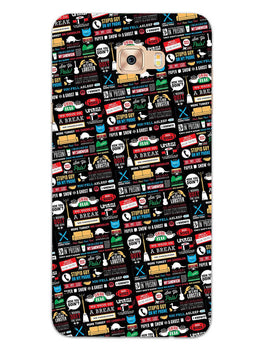 FRIENDS Samsung Galaxy C9 Pro Mobile Cover Case