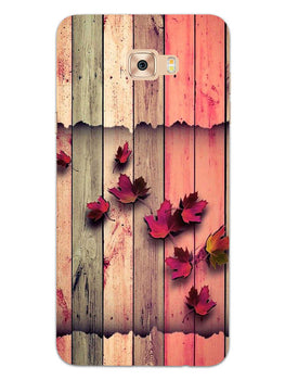 Color Wood Samsung Galaxy C9 Pro Mobile Cover Case