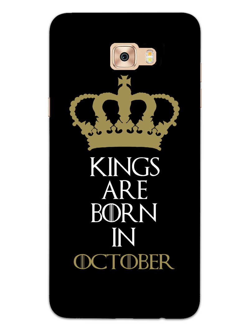 Kings October Samsung Galaxy C9 Pro Mobile Cover Case - MADANYU