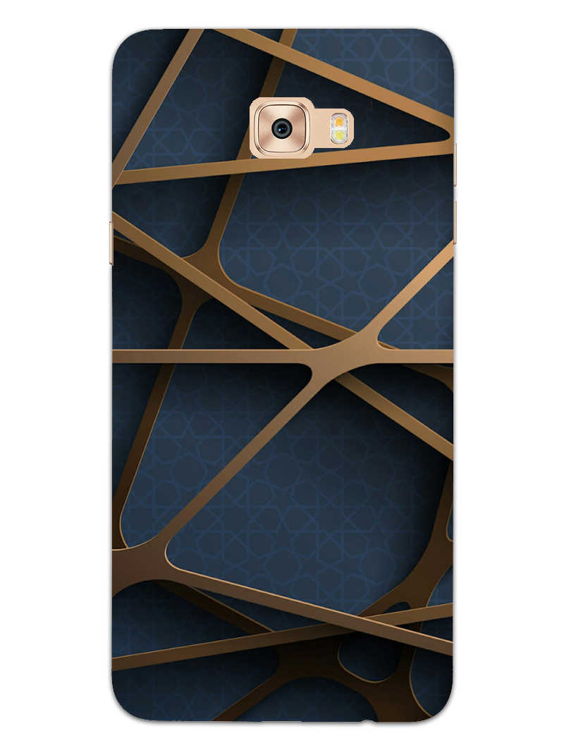 Random Geometry Samsung Galaxy C9 Pro Mobile Cover Case