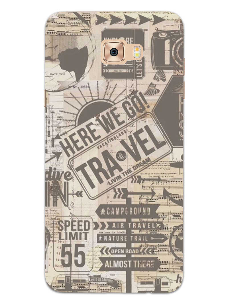 Wanderlust Graffiti Samsung Galaxy C9 Pro Mobile Cover Case