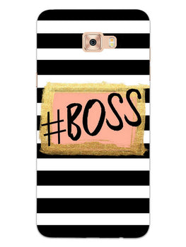 The Boss Samsung Galaxy C9 Pro Mobile Cover Case