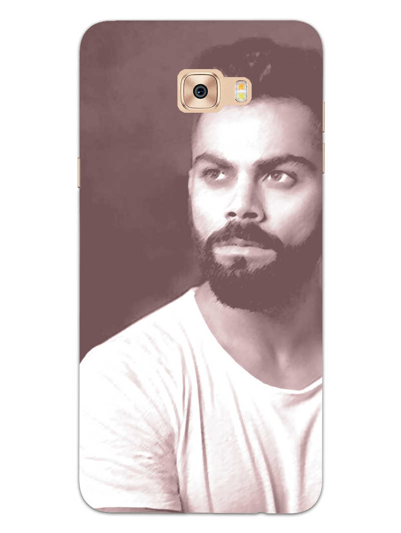 Kohli Retro Samsung Galaxy C9 Pro Mobile Cover Case
