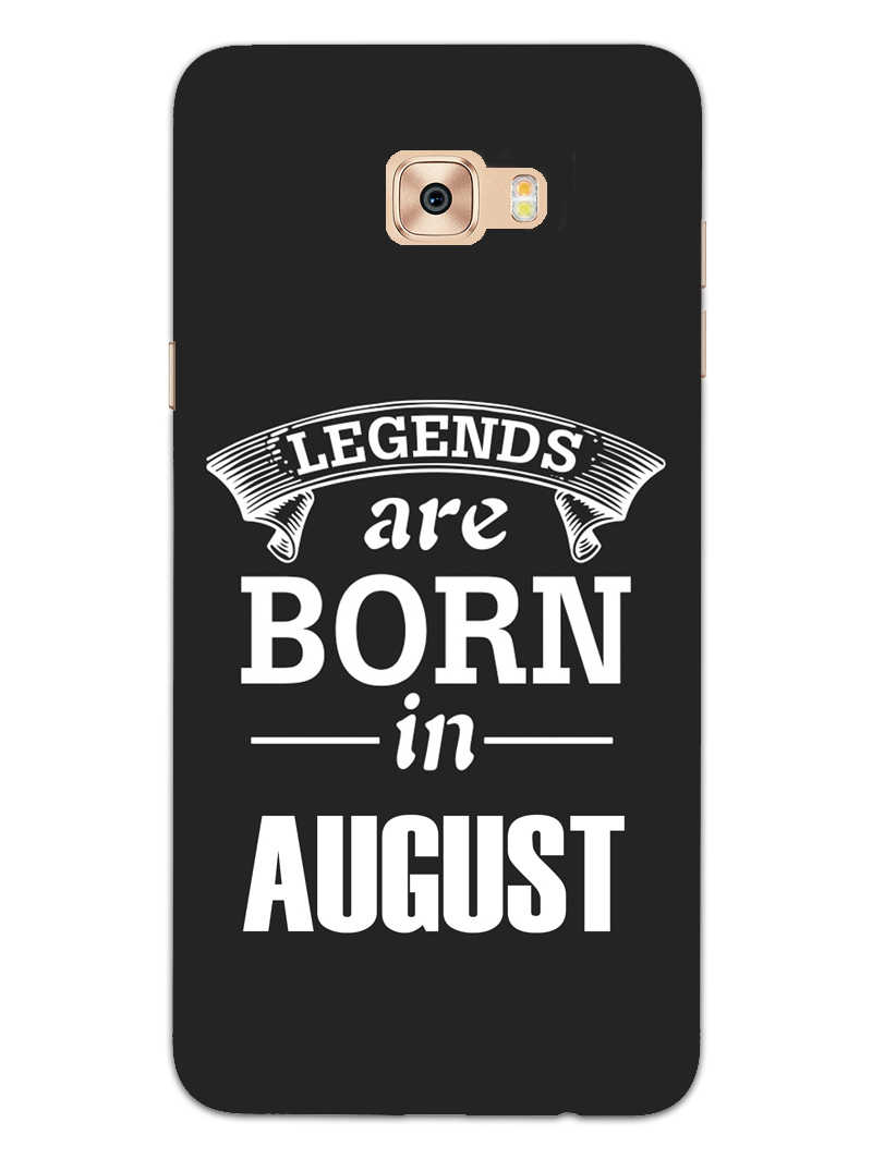 Legends August Samsung Galaxy C9 Pro Mobile Cover Case - MADANYU