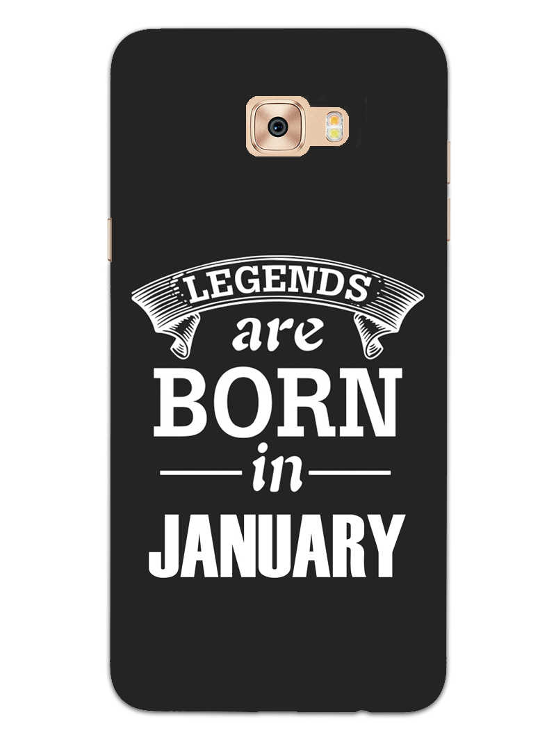 Legends January Samsung Galaxy C9 Pro Mobile Cover Case