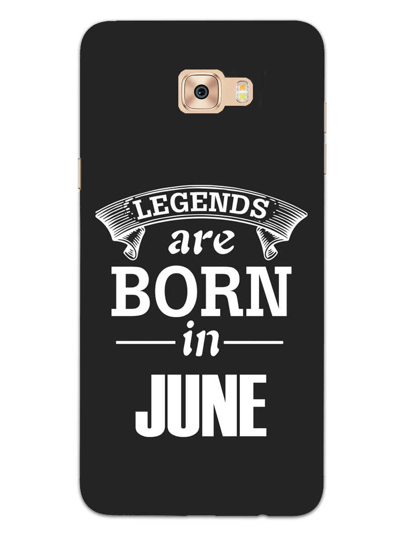 Legends June Samsung Galaxy C9 Pro Mobile Cover Case - MADANYU