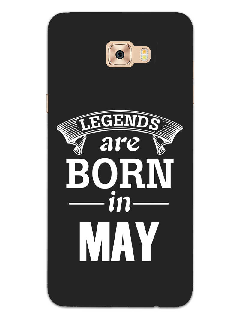Legends May Samsung Galaxy C9 Pro Mobile Cover Case - MADANYU