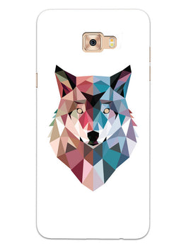 Geometric Wolf Poly Art Samsung Galaxy C9 Pro Mobile Cover Case