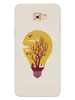Live Life With Nature Samsung Galaxy C9 Pro Mobile Cover Case