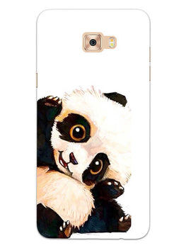 Cute Baby Panda Samsung Galaxy C9 Pro Mobile Cover Case