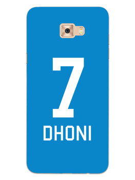 Dhoni Jersey Samsung Galaxy C9 Pro Mobile Cover Case