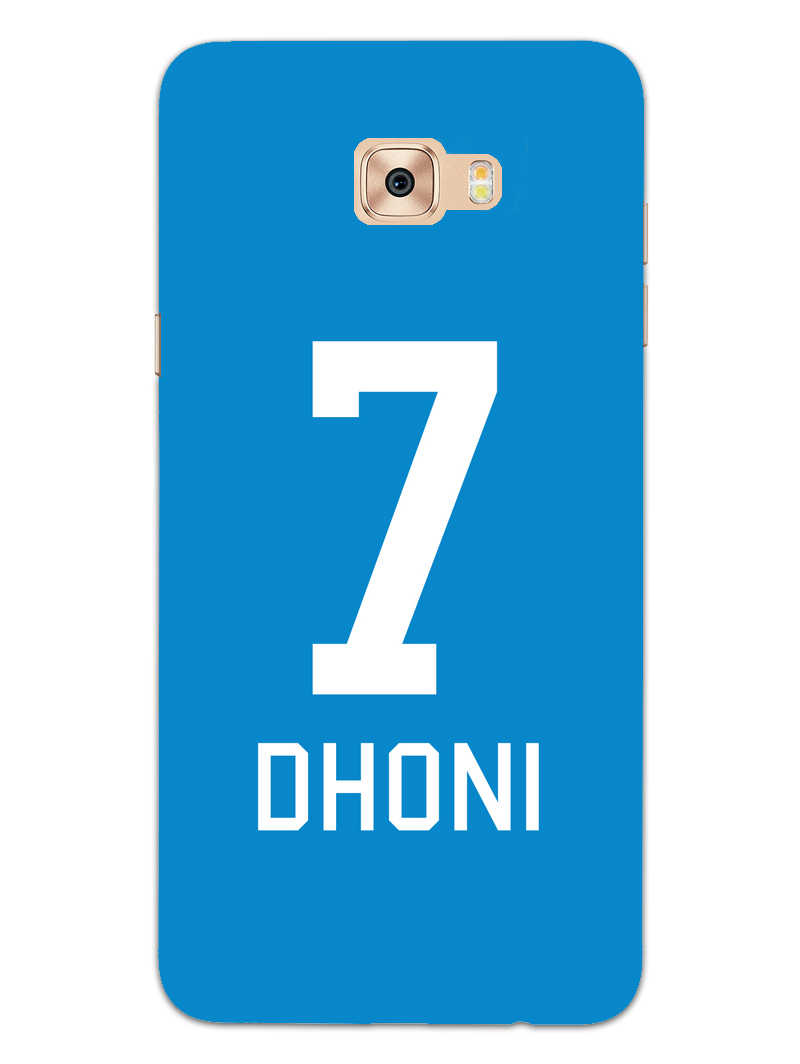 Dhoni Jersey Samsung Galaxy C9 Pro Mobile Cover Case - MADANYU