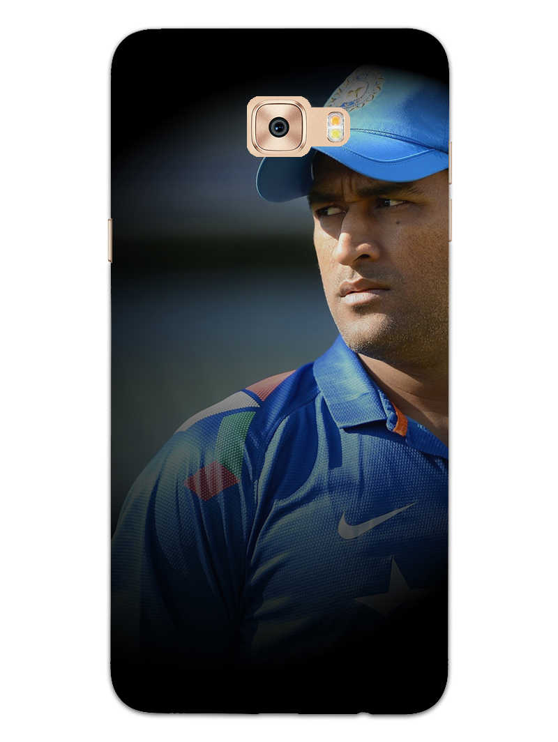Dhoni Spotlight Samsung Galaxy C9 Pro Mobile Cover Case - MADANYU