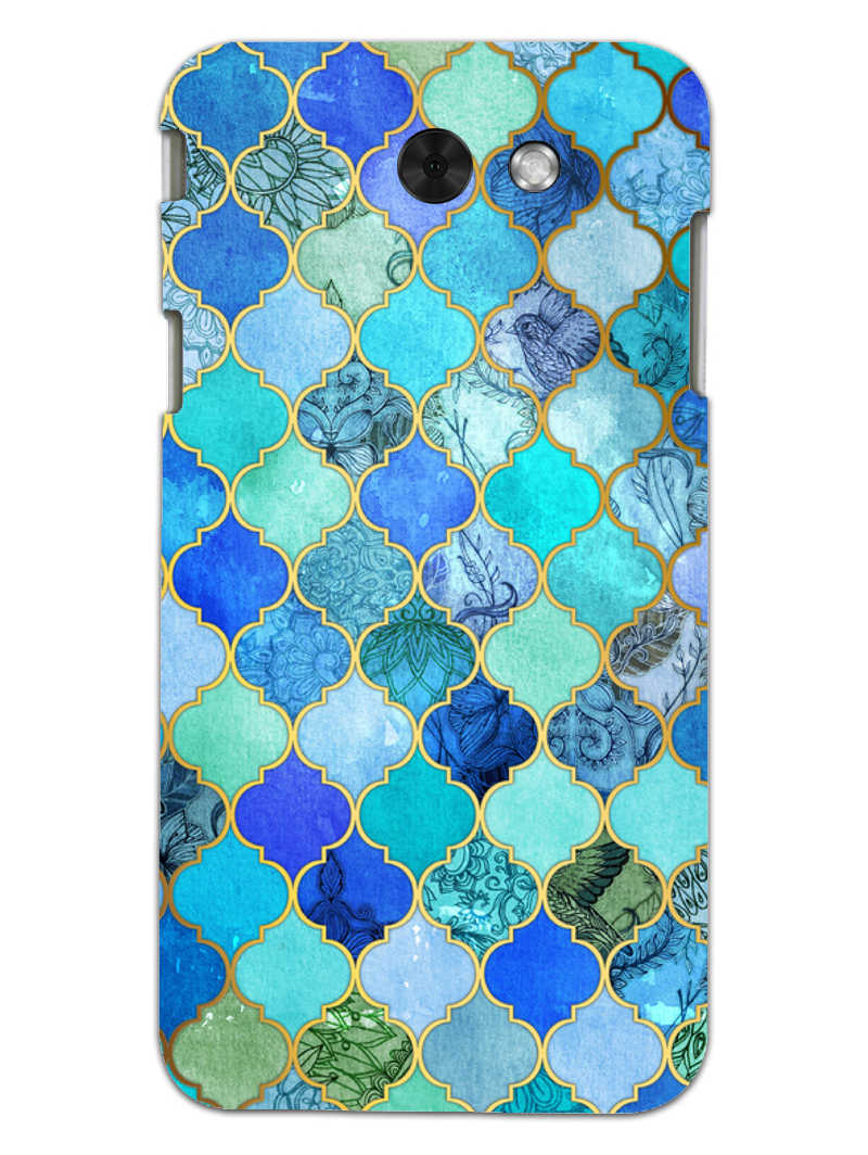 Morroccan Pattern Samsung Galaxy J3 2017 Mobile Cover Case - MADANYU