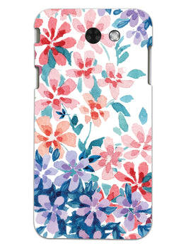 Floral Art Samsung Galaxy J3 2017 Mobile Cover Case