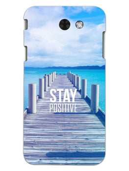 Stay Positive Samsung Galaxy J3 2017 Mobile Cover Case