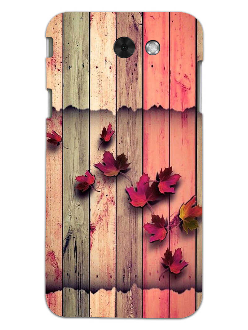 Color Wood Samsung Galaxy J3 2017 Mobile Cover Case - MADANYU