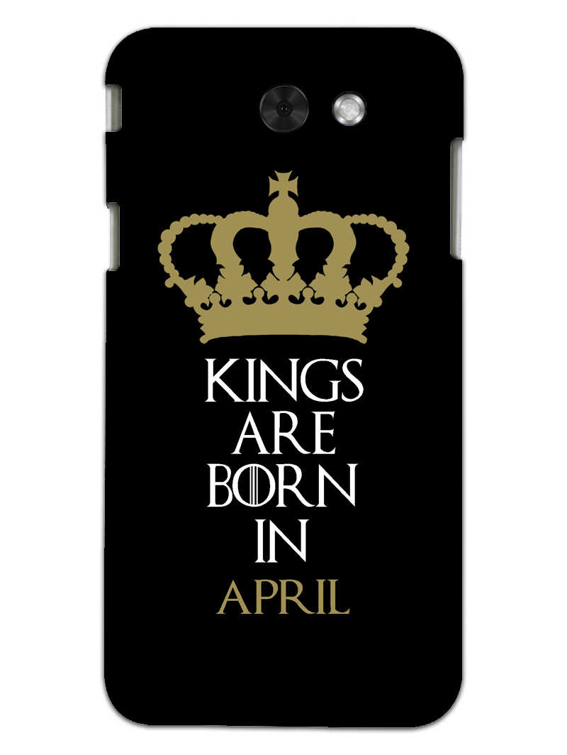 Kings April Samsung Galaxy J3 2017 Mobile Cover Case - MADANYU