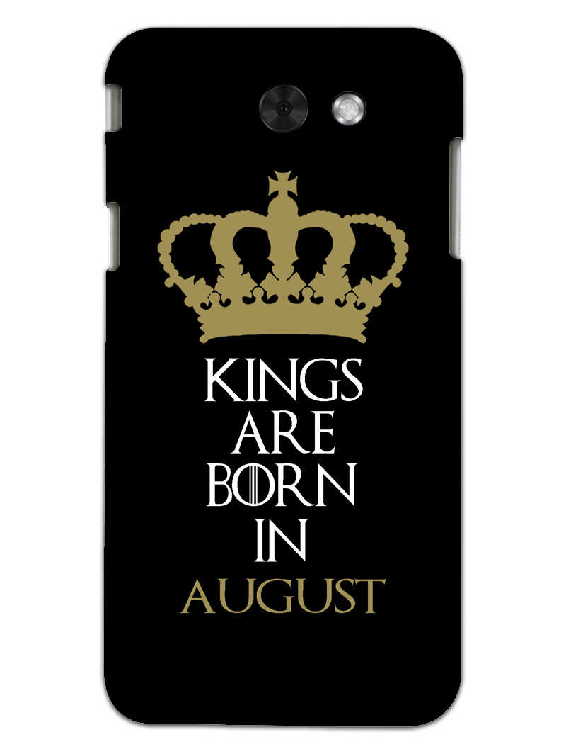 Kings August Samsung Galaxy J3 2017 Mobile Cover Case - MADANYU