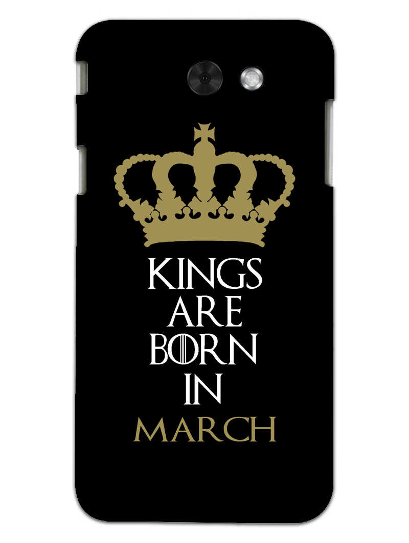 Kings March Samsung Galaxy J3 2017 Mobile Cover Case - MADANYU
