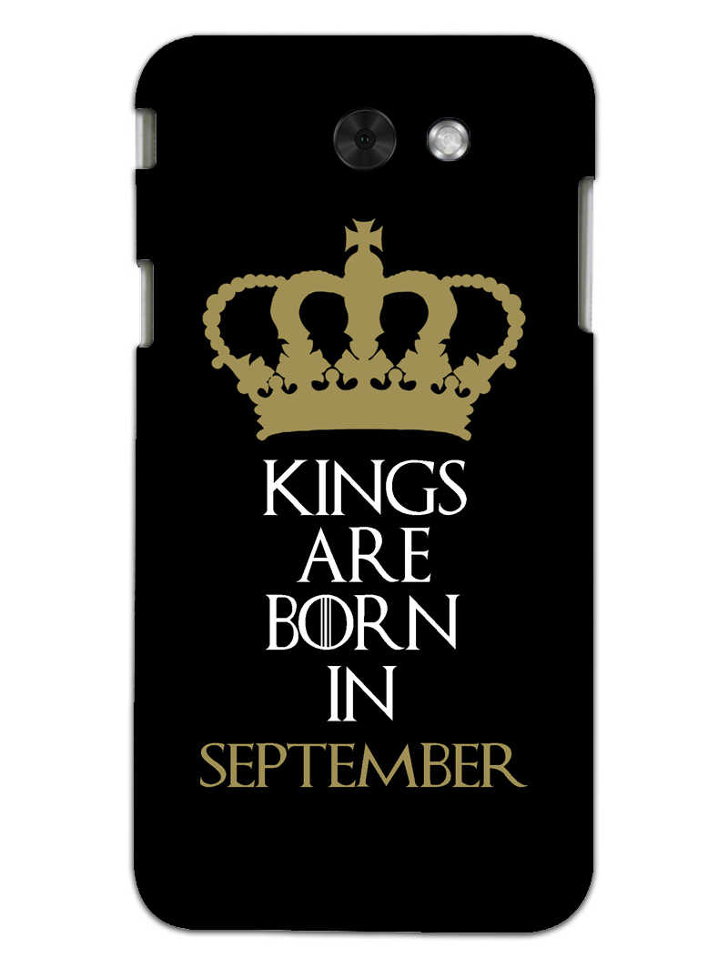 Kings September Samsung Galaxy J3 2017 Mobile Cover Case