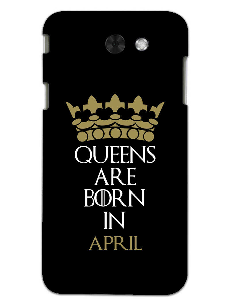 Queens April Samsung Galaxy J3 2017 Mobile Cover Case - MADANYU