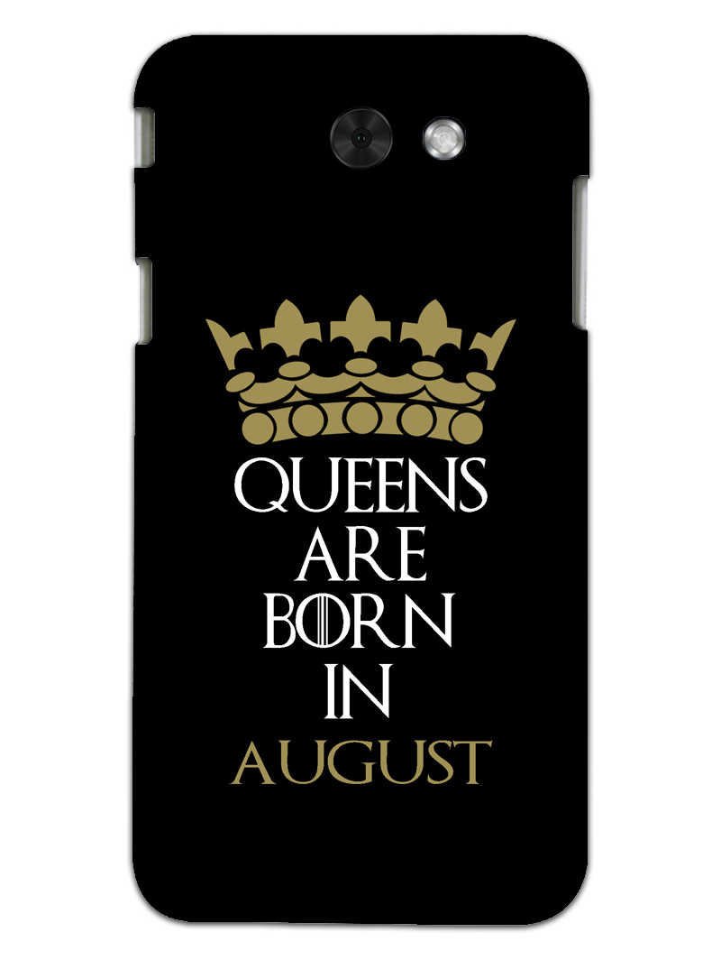 Queens August Samsung Galaxy J3 2017 Mobile Cover Case