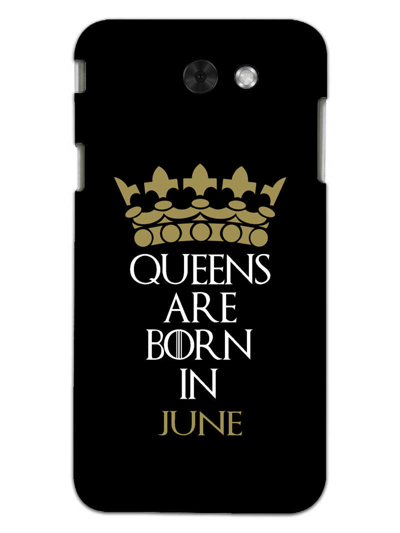 Queens June Samsung Galaxy J3 2017 Mobile Cover Case - MADANYU