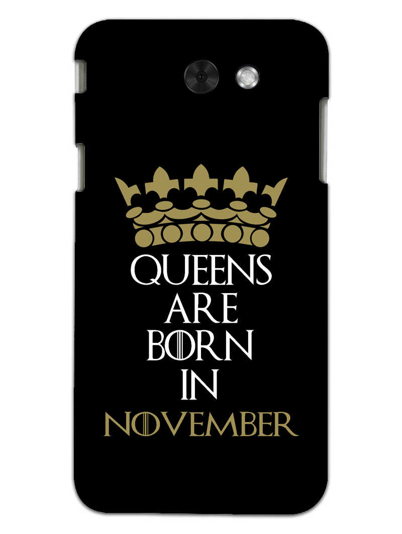 Queens November Samsung Galaxy J3 2017 Mobile Cover Case - MADANYU