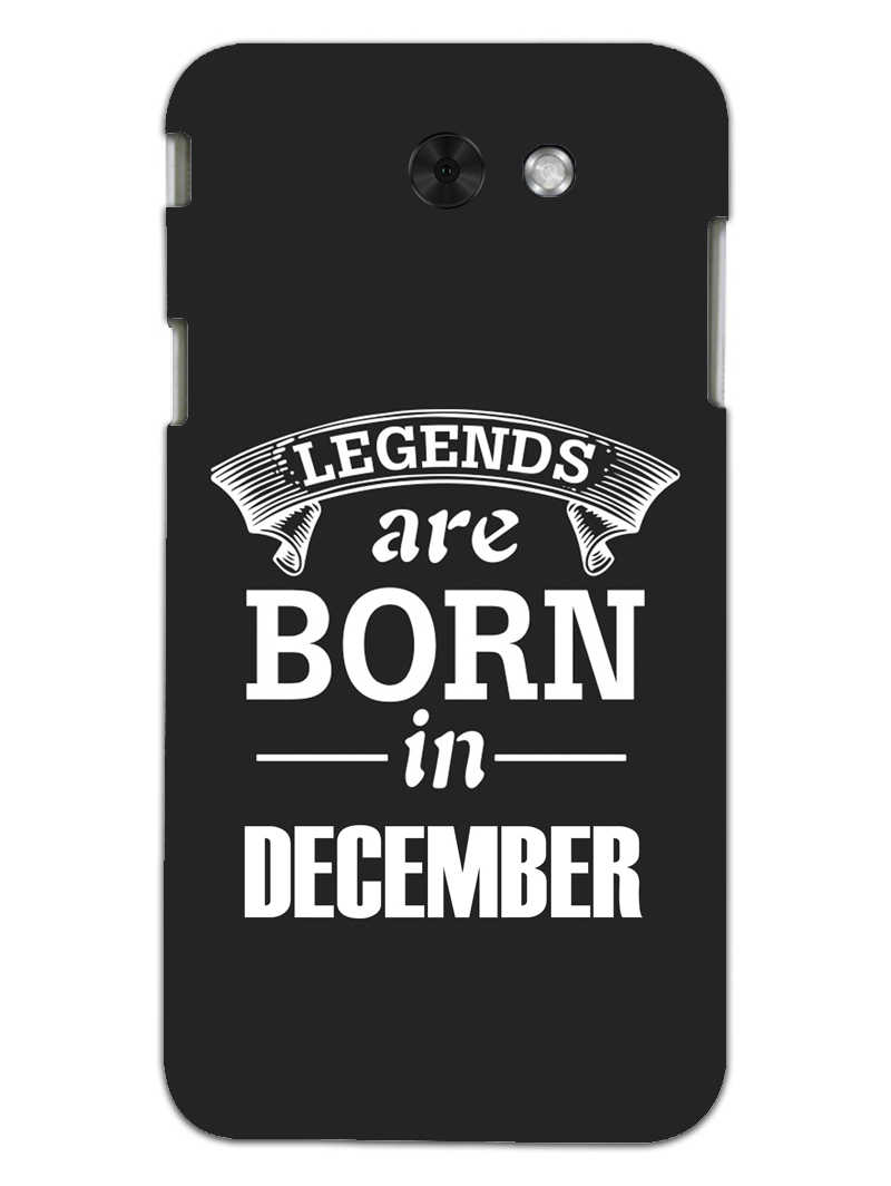 Legends December Samsung Galaxy J3 2017 Mobile Cover Case - MADANYU