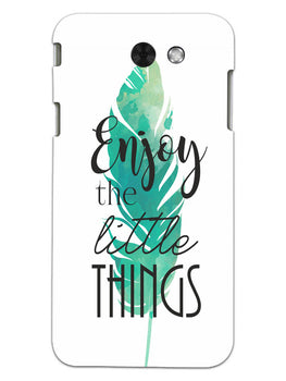 Live To Enjoy Little Things Samsung Galaxy J3 2017 Mobile Cover Case