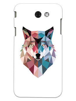 Geometric Wolf Poly Art Samsung Galaxy J3 2017 Mobile Cover Case