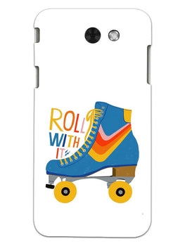 Roller Skate Play With Fun Samsung Galaxy J3 2017 Mobile Cover Case