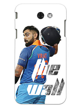 Kohli The Wall Cricket Lover Samsung Galaxy J3 2017 Mobile Cover Case