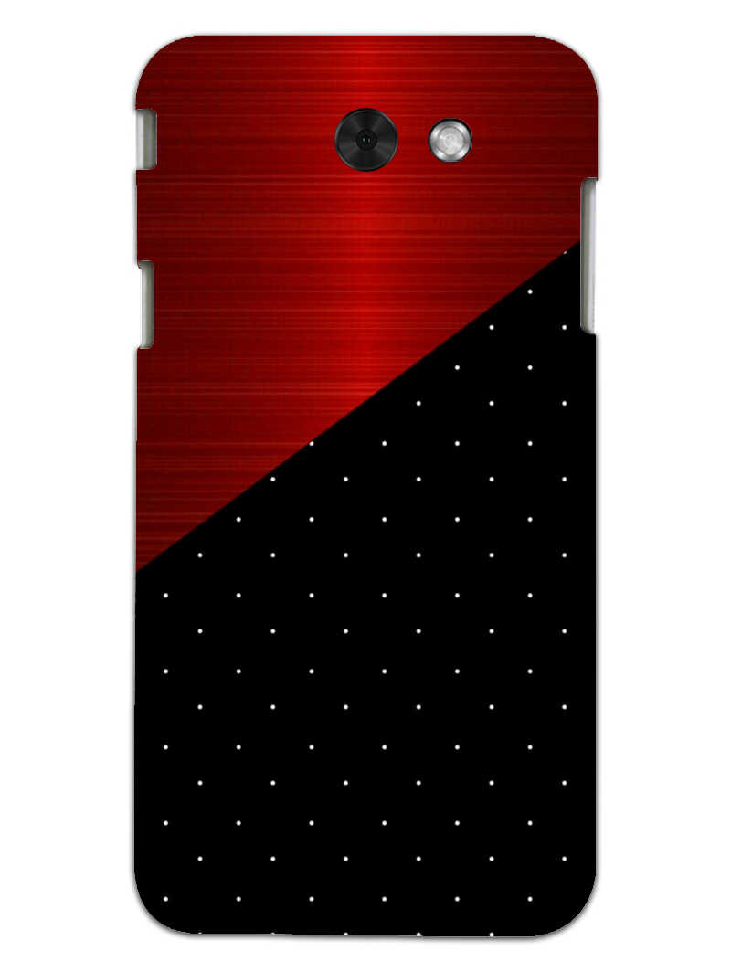 Polka Dots On Wood Samsung Galaxy J3 2017 Mobile Cover Case