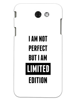 I Am Limited Edition Samsung Galaxy J3 2017 Mobile Cover Case